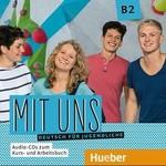 Mit uns B2 Audio CDs zum Kursbuch und Arbeitsbuch