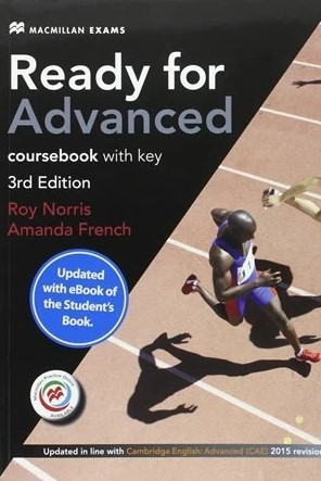 """Купить книгу """"Ready for Advanced 3rd Edition Coursebook with key and eBook Pack"""""""