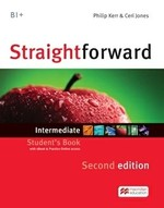 Straightforward Second Edition Intermediate Student's Book with eBook Pack