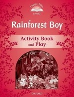 Rainforest Boy Activity Book and Play