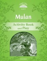 Mulan Activity Book and Play
