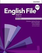 English File Fourth Edition Beginner Workbook with key