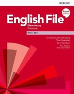 English File Fourth Edition Elementary Workbook with key