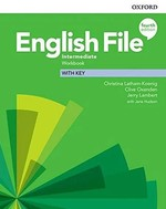 English File Fourth Edition Intermediate Workbook with key