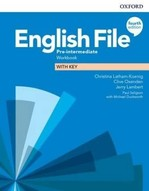 English File Fourth Edition Pre-Intermediate Workbook with key