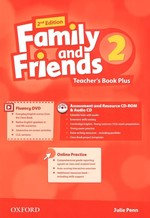 Family and Friends 2nd Edition 2 Teacher's Book Plus with Assessment and Resource CD-ROM and Audio CD