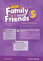 Family and Friends 2nd Edition 5 Teacher's Book Plus with Assessment and Resource CD-ROM and Audio CD