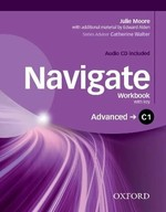 Navigate Advanced Workbook with Audio CD and key