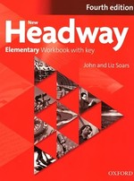 New Headway Fourth Edition Elementary Workbook with key