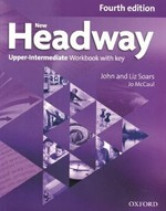 New Headway Fourth Edition Upper-Intermediate Workbook with key