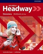 New Headway 5th Edition Elementary Workbook with key