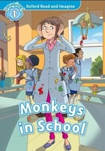 Monkeys in School with Audio CD