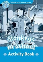 Monkeys in School Activity Book