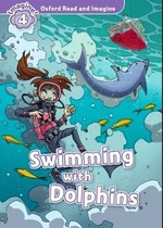 Swimming with Dolphins with Audio CD - купить и читать книгу