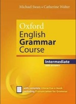 Oxford English Grammar Course Intermediate with answers and e-book