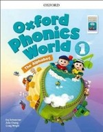 Oxford Phonics World 1: The Alphabet Student's Book with App Pack