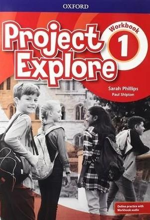 """Купить книгу """"Project Explore 1 Workbook with Online Practice"""""""