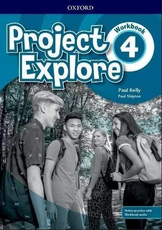 """Купить книгу """"Project Explore 4 Workbook with Online Practice"""""""