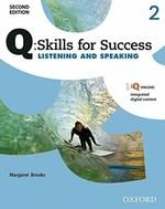 Q: Skills for Success Second Edition. Listening and Speaking 2 - купить и читать книгу