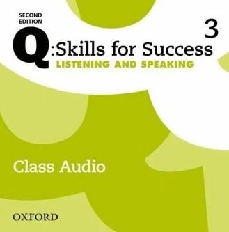 "Купить книгу ""Q: Skills for Success Second Edition. Listening and Speaking 3 Class Audio"""