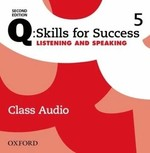 "Купить книгу ""Q: Skills for Success Second Edition. Listening and Speaking 5 Class Audio"""