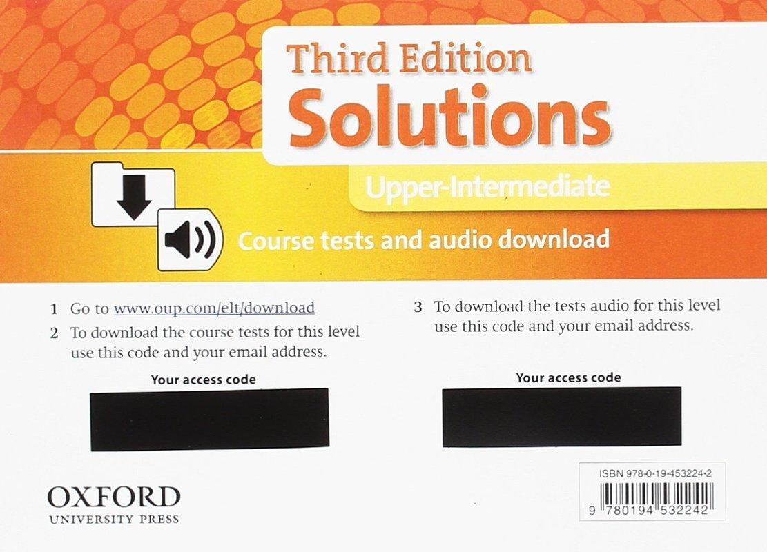 "Купить книгу ""Solutions 3e Upper-intermediate Course Tests Pack"""