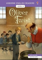 Oliver Twist with activities and free audio