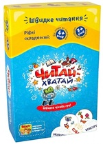 Настольная игра The Brainy Band Читай-Хватай (УКР016)