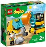Конструктор LEGO Грузовик и гусеничный экскаватор (10931)