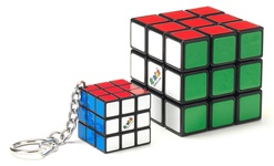 Набор головоломок 3х3 Rubik's Кубик Рубика и мини-кубик с кольцом (RK-000319) - купить онлайн