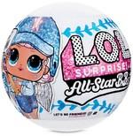 Ігровий набір-сюрприз з лялькою L.O.L. Surprise All-Star B.B.s. Спортивна команда (570363)