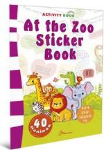 At the Zoo Sticker Book - купить и читать книгу