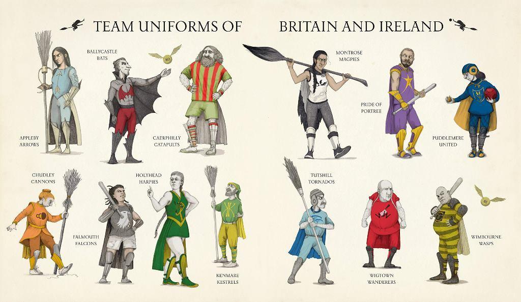 Quidditch Through The Ages. Illustrated Edition - купить и читать книгу
