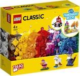 Конструктор LEGO Classic Прозорі кубики для творчості (11013) - купити онлайн