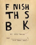Finish This Book - купити і читати книгу