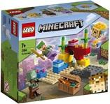 Конструктор LEGO Minecraft Коралловый риф (21164) - купить онлайн