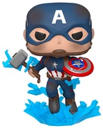 Игровая фигурка Funko Pop! Мстители: Финал, Капитан Америка с мьёльниром (45137) - купить онлайн