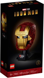 Конструктор LEGO Super Heroes Marvel Шолом Залізної Людини (76165) - купити онлайн