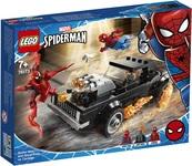 Конструктор LEGO Super Heroes Marvel Человек-Паук и Призрачный Гонщик против Карнажа (76173) - купить онлайн