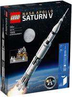 Конструктор LEGO Ideas Ракетно-космічна система НАСА «Сатурн-5-Аполлон» (92176) - купити онлайн