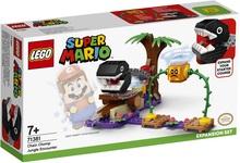 Конструктор LEGO Super Mario Кусалкин на цепи — встреча в джунглях. Дополнительный набор (71381) - купить онлайн