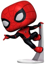 Игровая фигурка Funko Pop! Человек-паук: Вдали от дома Человек-паук в обновленном костюме (39898) - купить онлайн