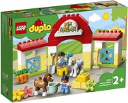 Конструктор LEGO DUPLO Конюшня для лошади и пони (10951) - купить онлайн