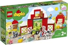 Конструктор LEGO DUPLO Фермерский трактор, домик и животные (10952) - купить онлайн