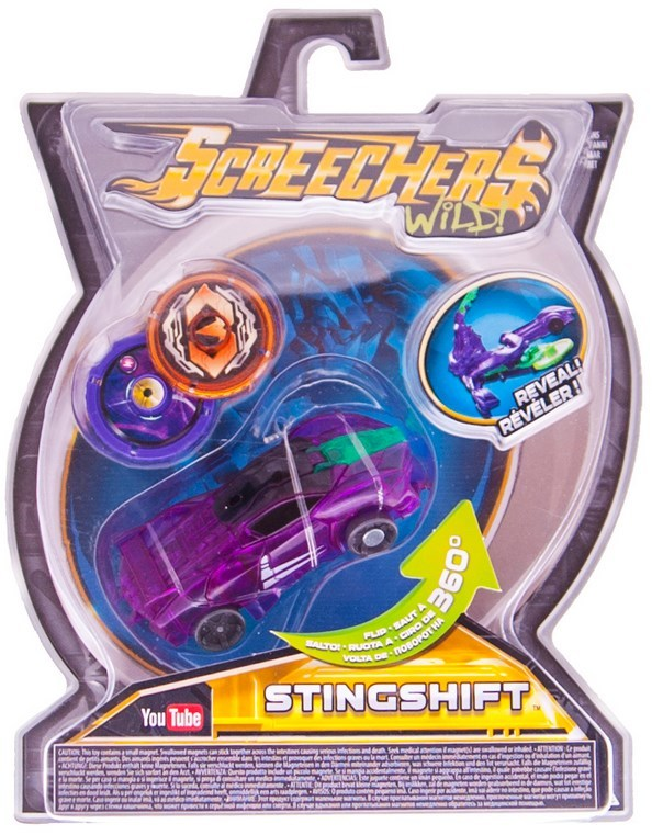 "Купить ""Машинка-трансформер Screechers Wild L1 Стінгшифт (EU683113)"""