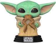 Игровая фигурка Funko Pop! Звёздные войны: Мандалорец Малыш с лягушкой (49932) - купить онлайн