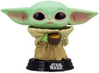 Игровая фигурка Funko Pop! Звёздные войны: Мандалорец Малыш с чашкой (49933) - купить онлайн