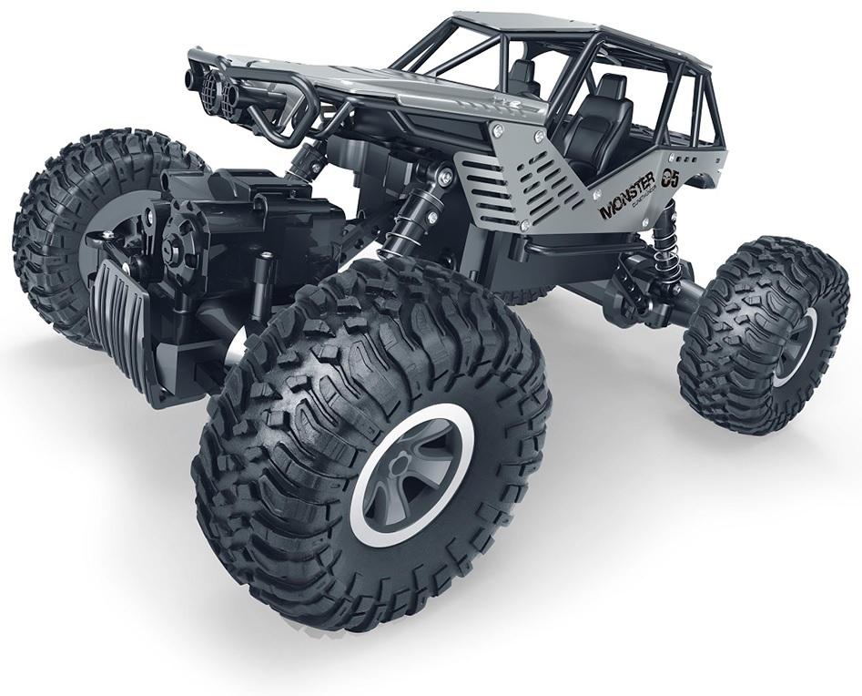"""Купить """"Машинка на радіоуправлінні Sulong Toys Off-Road Crawler Rock, 1:18, сріблястий (SL-111RHS)"""""""