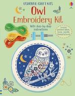 Owl Embroidery Kit - купить и читать книгу