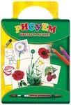 Рисуем цветы и ягоды. От ромашки до земляники